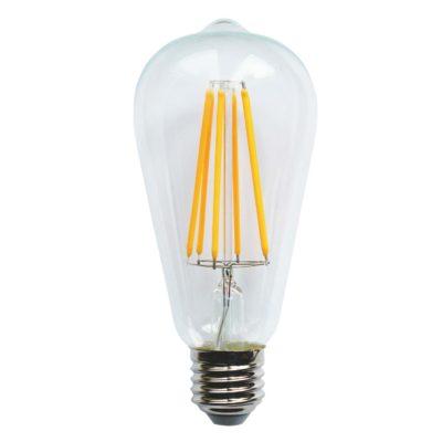 LED spuldze VINTAGE ST64-LL, 6W / 2200K / E27