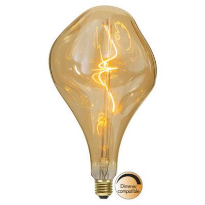 LED spuldze INDUSTRIAL VINTAGE AMBER A165, 3.8W / 2000K / E27