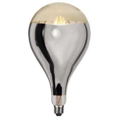LED spuldze INDUSTRIAL VINTAGE SILVER A165, 8W / 2000K / E27