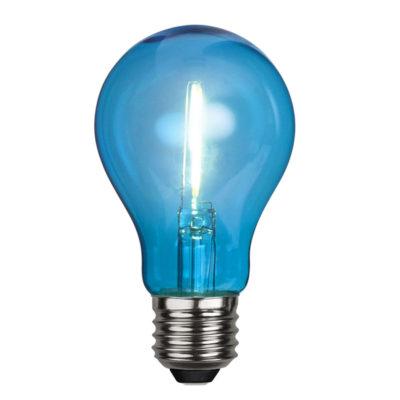 LED spuldze DECORATION PARTY BLUE, 1W / E27