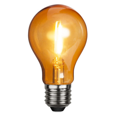 LED spuldze DECORATION PARTY ORANGE, 1W / E27