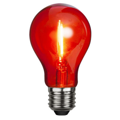LED spuldze DECORATION PARTY RED, 1W / E27