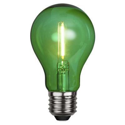 LED spuldze DECORATION PARTY GREEN, 1W / E27