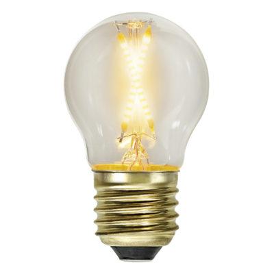 LED spuldzes virtene G45 EXTRA SOFT GLOW, 0.5W / 2100K / E27