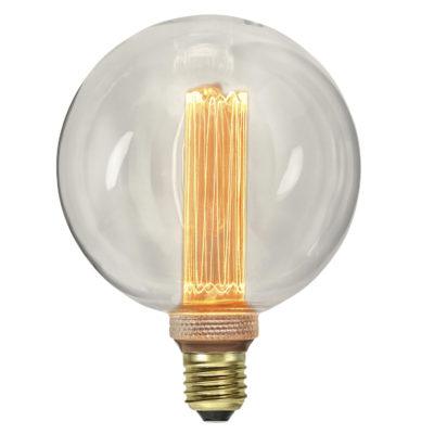 LED spuldze E27 G125 NEW GENERATION CLASSICS, 2.5W / 2000K / E27