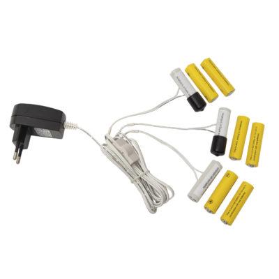 Bateriju adapteris, AA, 3x3