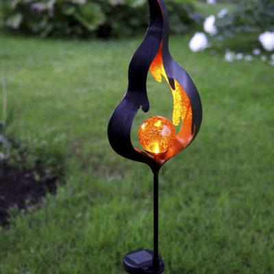 Dārza dekorācija FLAME SOLAR
