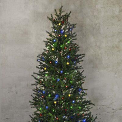 Virtene eglītei CHRISTMAS TREE LED COLOR