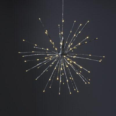 Ziemassvētku āra dekorācija FIREWORK 60CM