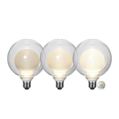LED spuldze ELIPSE 3-STEP, 3.5W / 2700K / E27