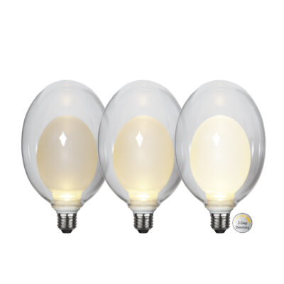 LED spuldze ELIPSE BIG 3-STEP, 3.5W / 2700K / E27