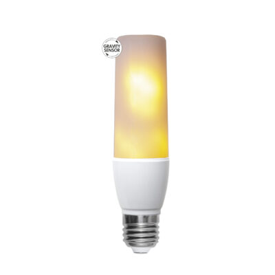 LED spuldze - liesmas imitācija T45 FLAME, 2.4W-5.9W / 1800K / E27