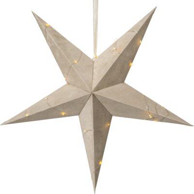 Samta zvaigzne VELVET BEIGE 60CM