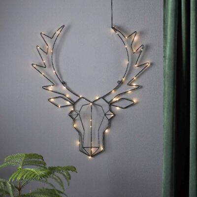 Ziemassvētku dekorācija LIGHT DEER
