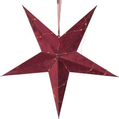 Samta zvaigzne VELVET RED 60CM