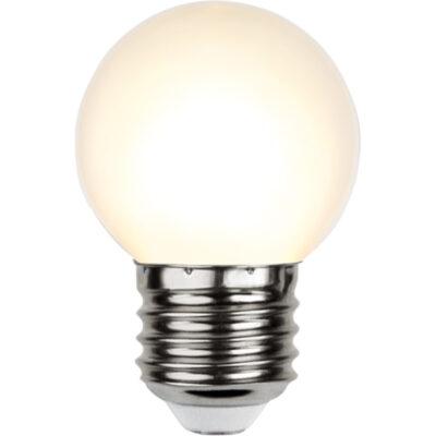 LED spuldzītes vītnēm G45, 1W / 2700K / E27