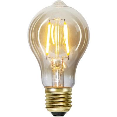 LED spuldzītes vītnēm TA60 PLAIN AMBER, 0.75W / 2000K / E27