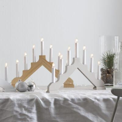 Ziemassvētku dekorācija logam ADAGIO NATURAL